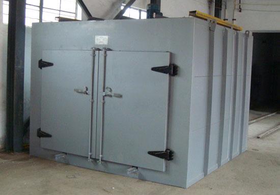 本烘箱适用于工业上在 室温~300,高温时300~500的加热或干燥之用,,设备加热功率从45KW~180KW不等,可供客户选择,也可根据客户需求具体定做。如用于干燥有爆炸性、挥发性的物品请定制本公司的防爆型烘箱